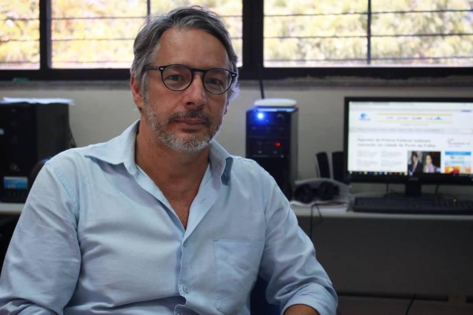 Marcelo Ennes é professor de Ciências Sociais da UFS. Foto: Dionísio Neto/Rádio UFS