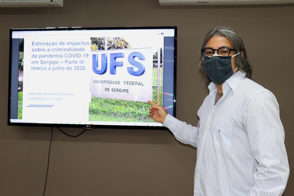 Prof. Marco Antônio desenvolve pesquisas sobre economia do crime. Foto: Josafá Neto